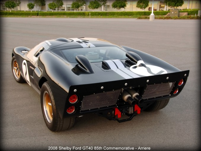 2008 Shelby Ford GT40 85th Commemorative