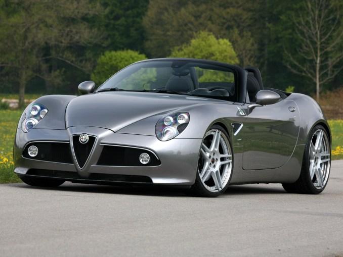2011 Novitec Alfa Romeo 8c Spider