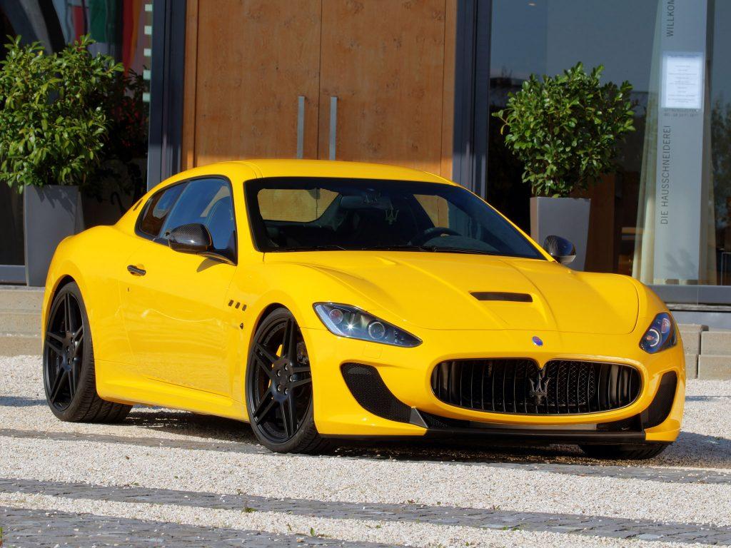 2011 Novitec Maserati Granturismo MC Stradale Tridente