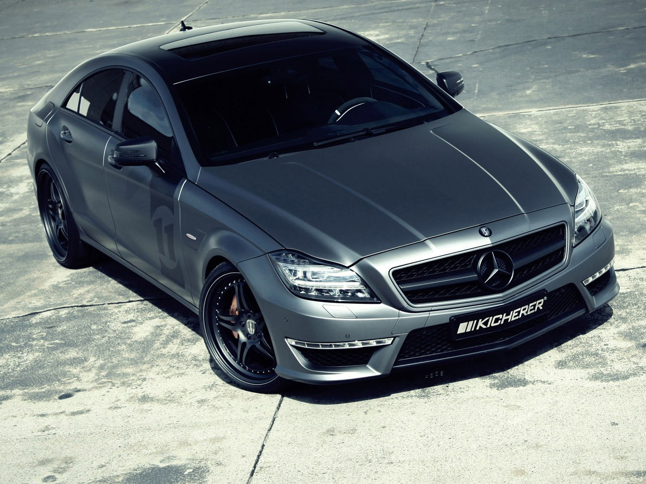 2012 Kicherer - AMG Mercedes CLS 63 Yachting C218