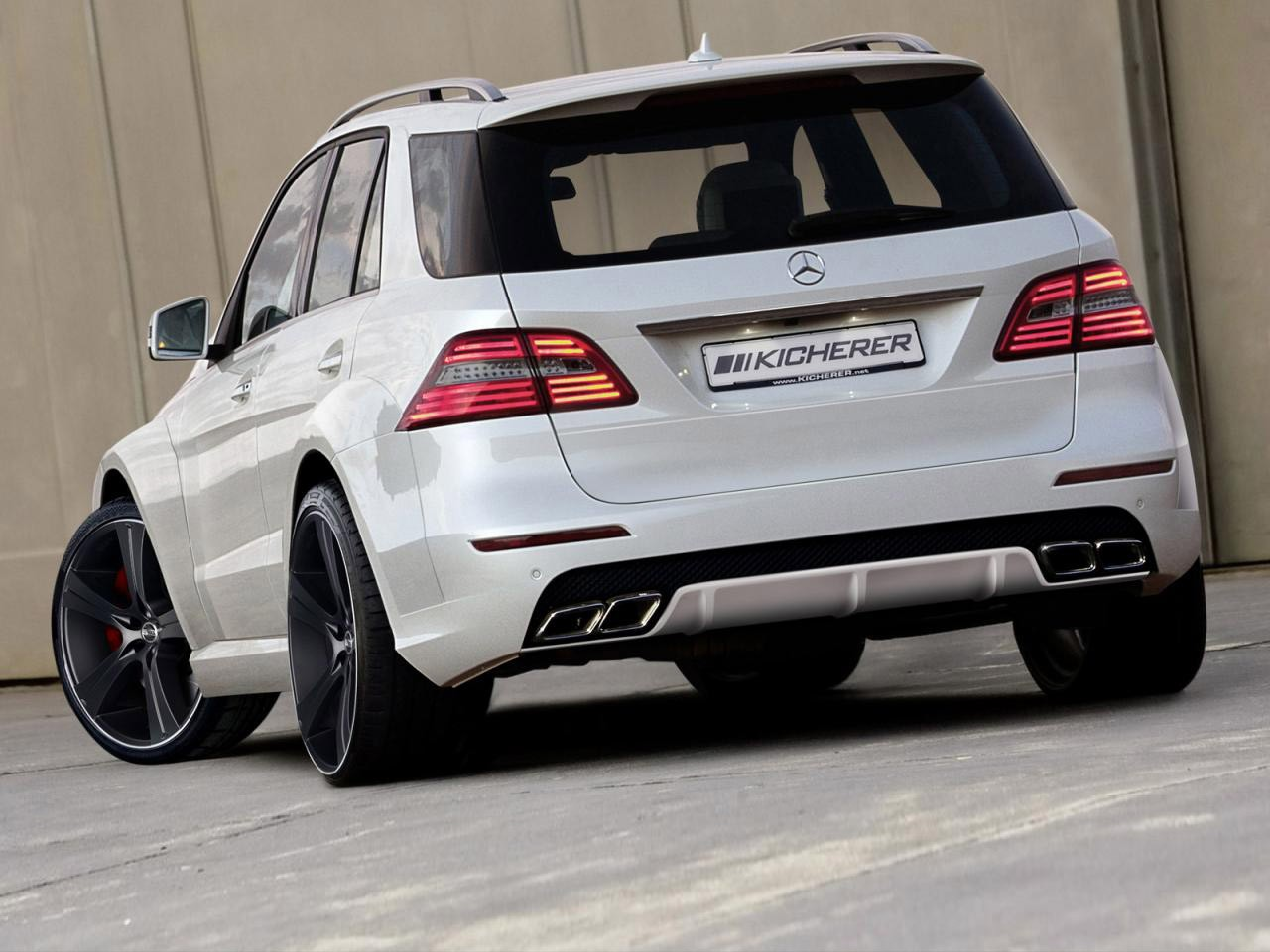 2012 Kicherer - Mercedes ML Impact