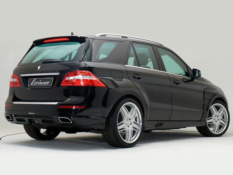 2012 Lorinser Mercedes ML W166