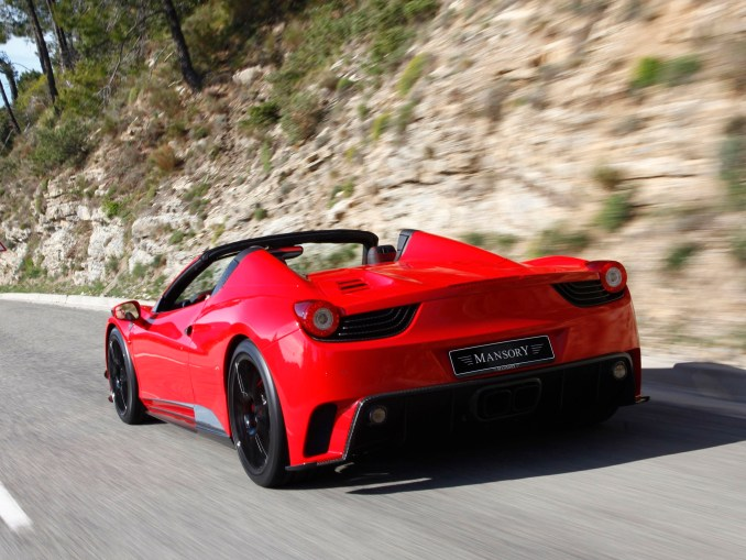 2012 Mansory Ferrari 458 Spider Monaco Edition