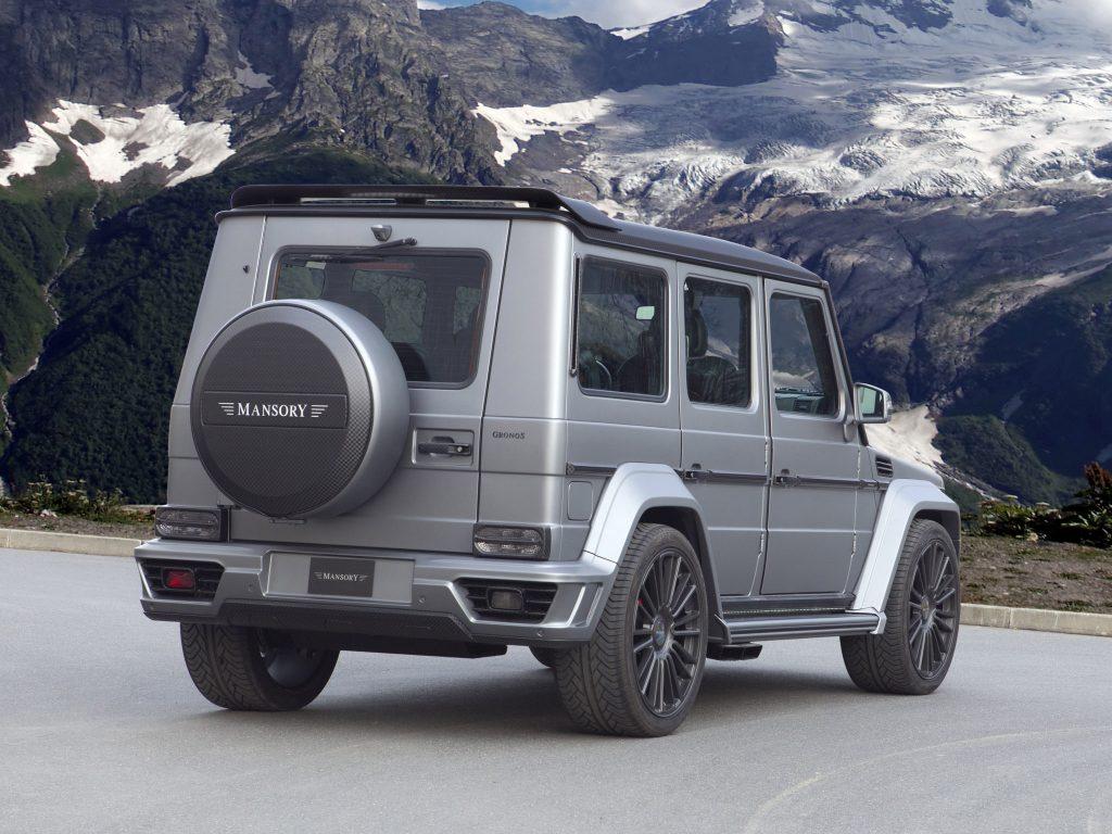 2014 Mansory - Mercedes G Gronos W463