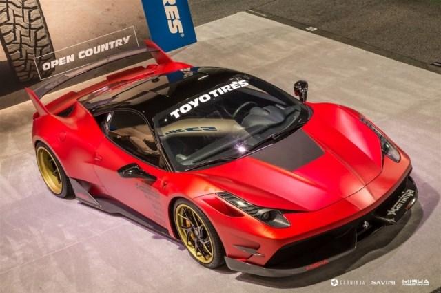 2015 Misha Designs - Ferrari 458 Italia