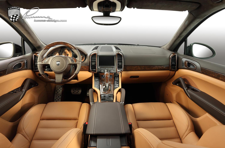 2016 Lumma - Porsche Cayenne Turbo Black Metallic CLR 558 GT
