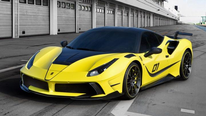 Ferrari 4XX Siracusa de chez Mansory:  Moteur V8 bi-turbo de 790ch