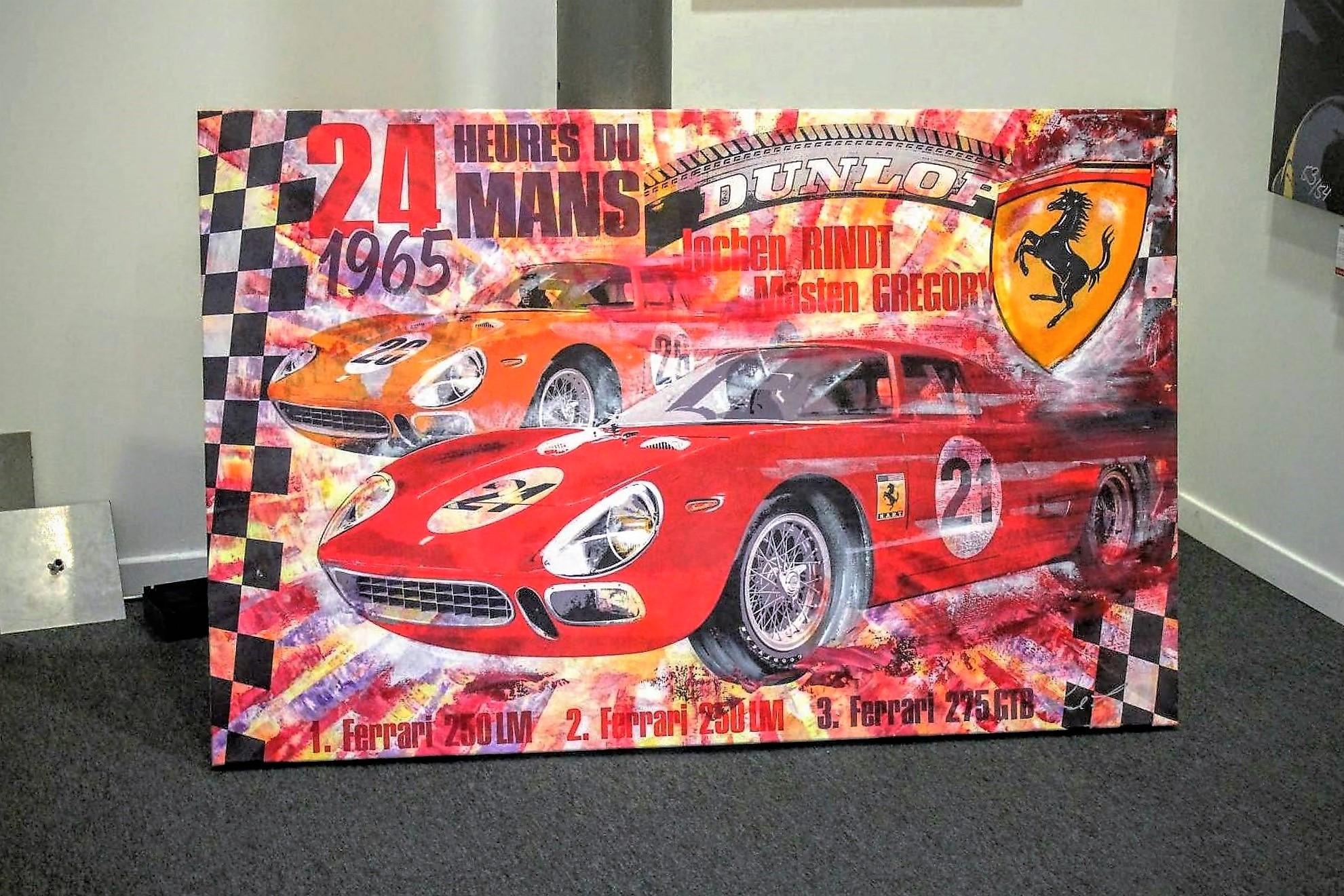 Affiche Le Mans 1965