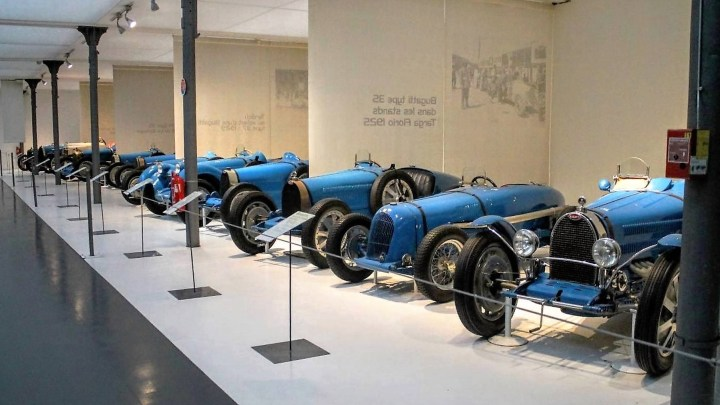 Musée Automobile de Mulhouse – La plus importante collection de Bugatti