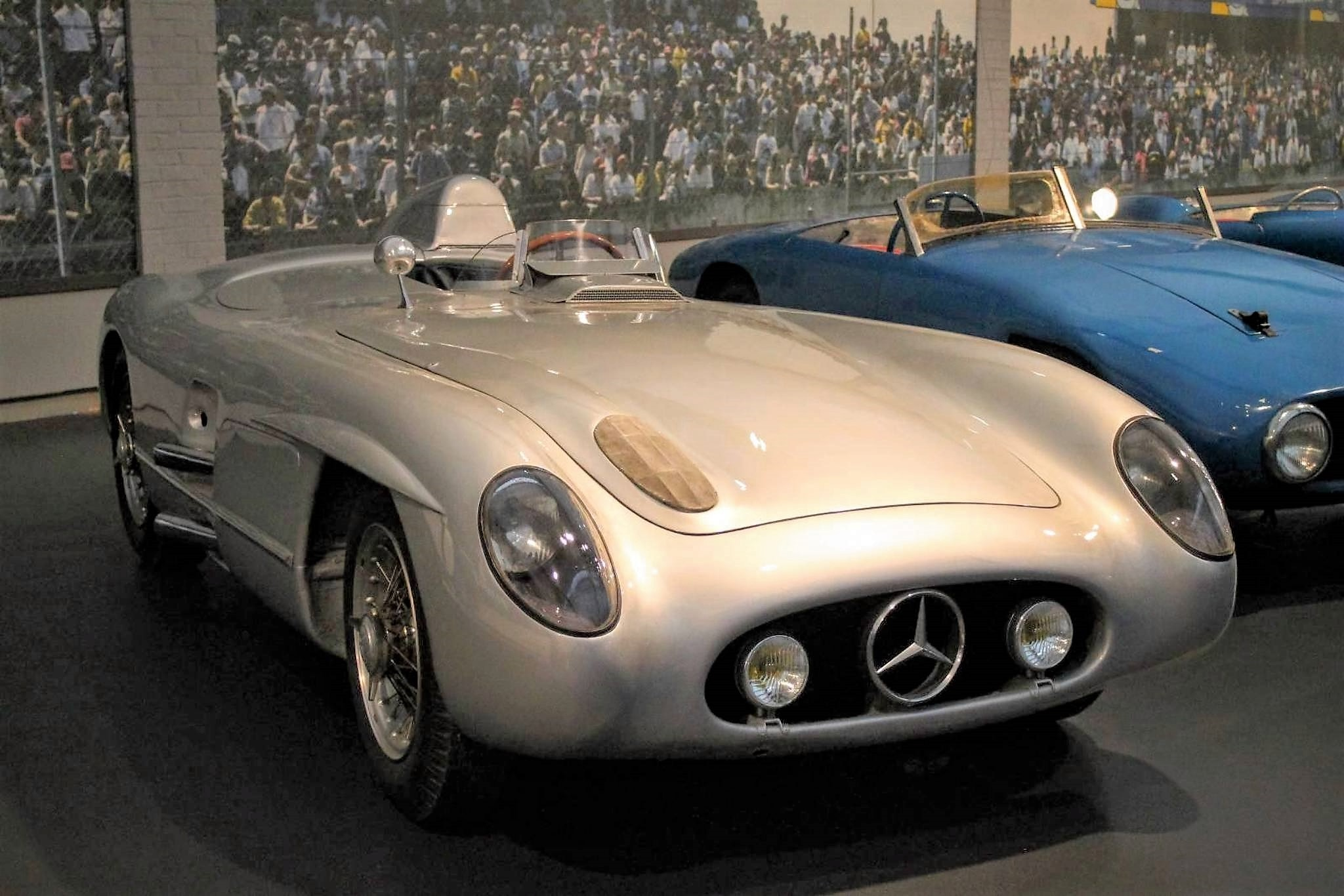 Mercedes-Benz biplace course 300 SLR 1955