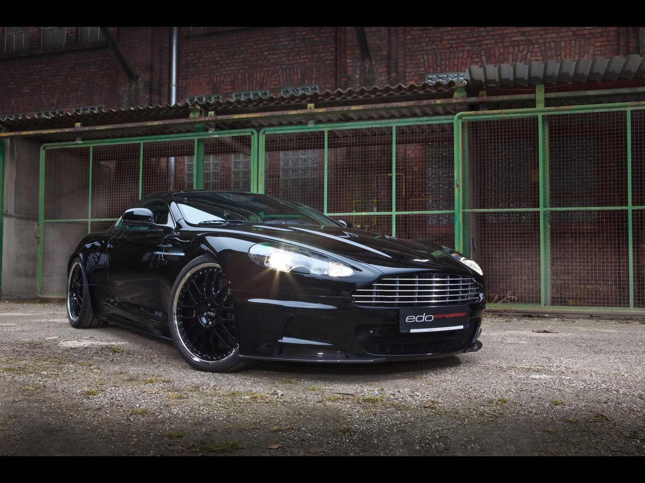 2010 Edo Competition - Aston Martin DBS Dashboard