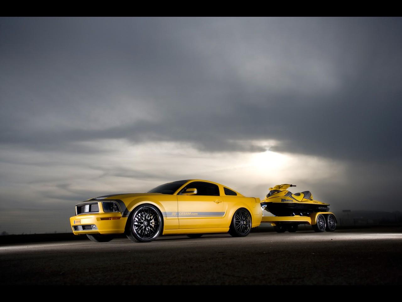 Cesam Ford Mustang 2007 - Parotech