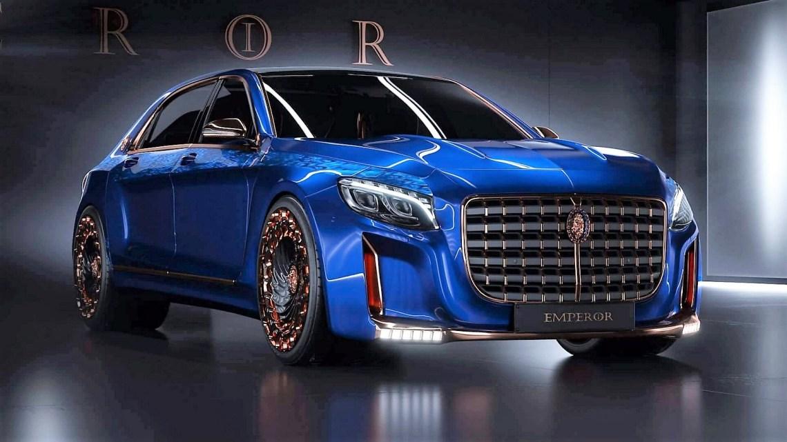 Mercedes Maybach Brabus Emperor 2016: modifiée de façon extensive