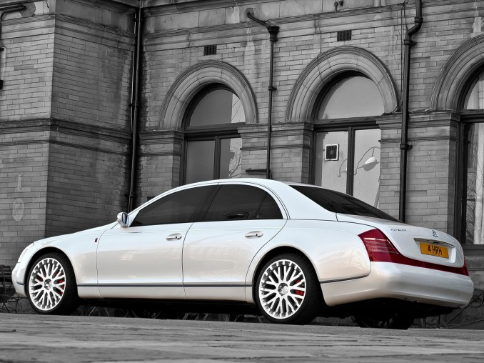 2011 Project Kahn Maybach 57 Wedding Commemorative