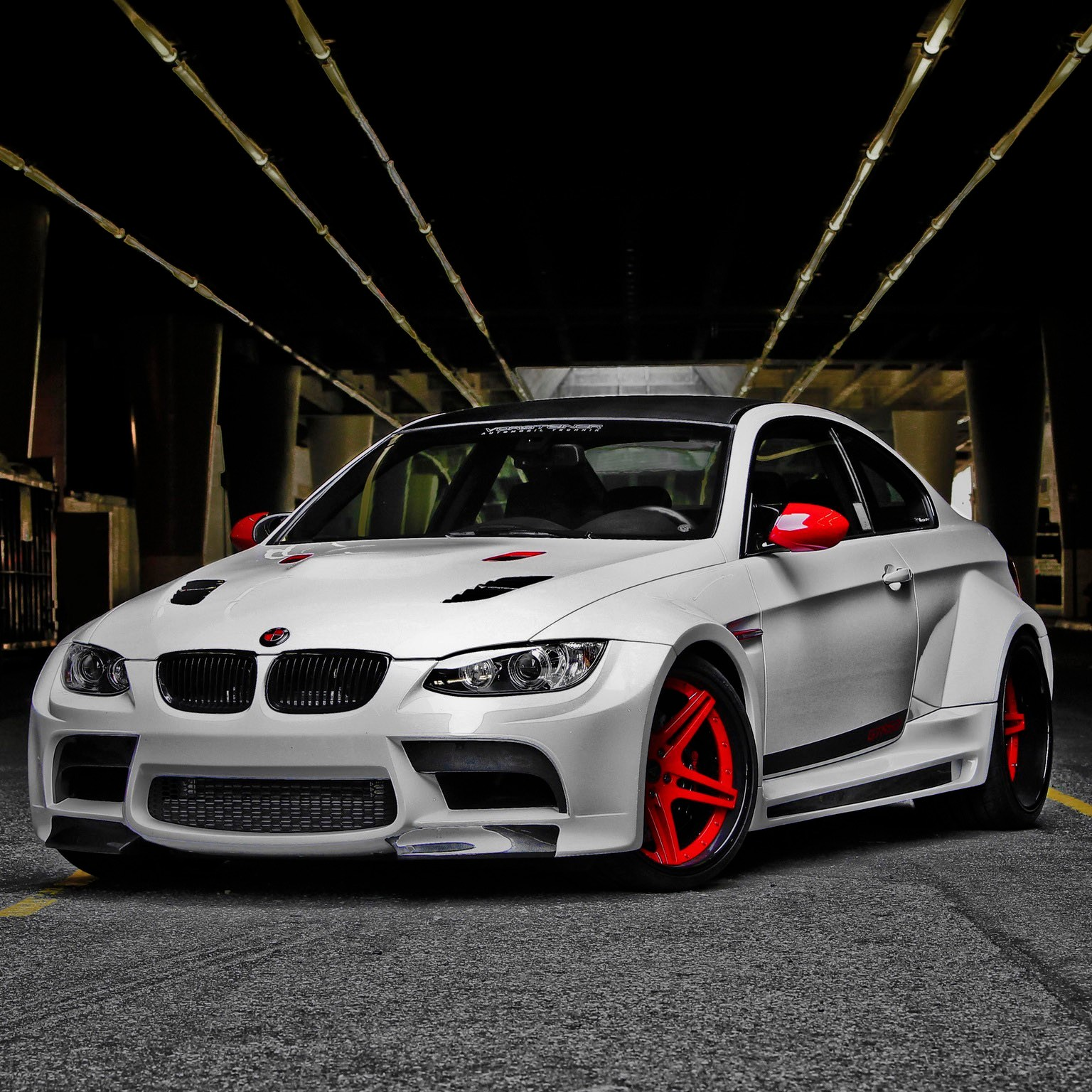 2011 Vorsteiner - Bmw M3 Coupe GTRS3 Candy Cane e92