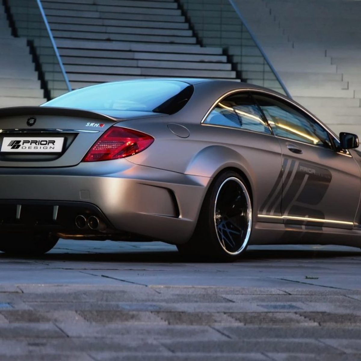 2012 Prior Design - Mercedes CL Black Edition V2