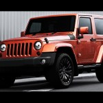 2012 Project Kahn Jeep Wrangler Military Copper Edition