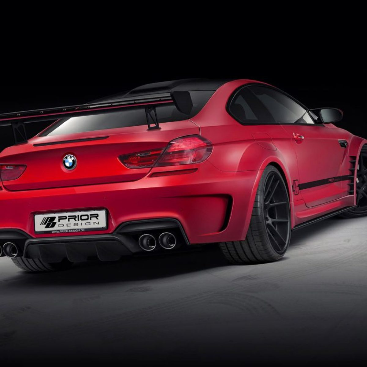 2013 Prior Design - Bmw M6 F12