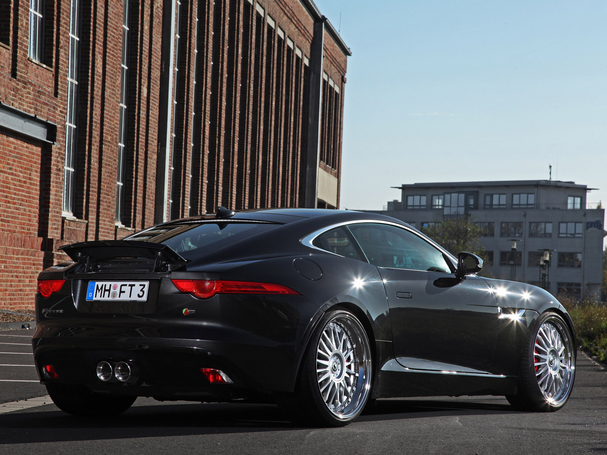 2014 Schmidt Revolution Jaguar F-Type Coupe