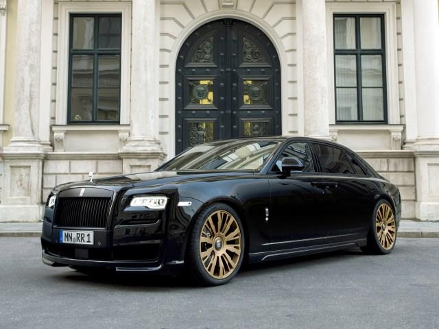 2015 Spofec Rolls Royce Black One