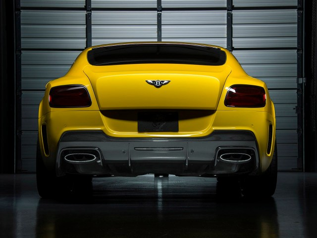 2015 Vorsteiner - Bentley Continental GT BR10 RS