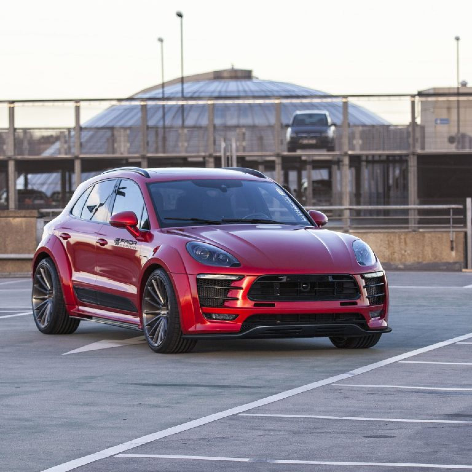 2016 Porsche Macan PD600m Widebody by Prior Design