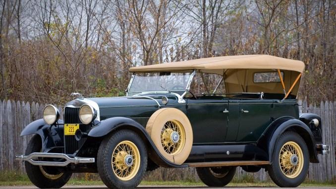 1930 Lincoln K Dual Cowl Sport Phaeton