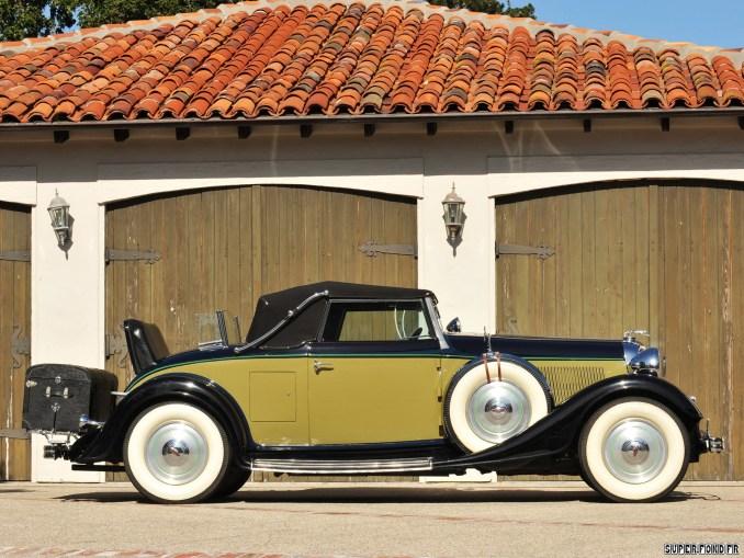1933 Lincoln Model KA Convertible Roadster by Murray