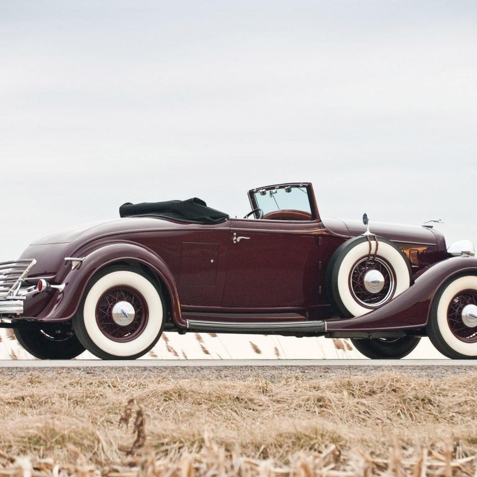 1934 Lincoln Model KA Convertible Roadster