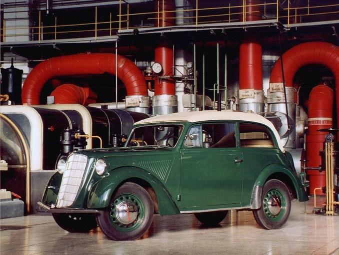 1935 a 37 Opel Olympia Cabrio Limousine