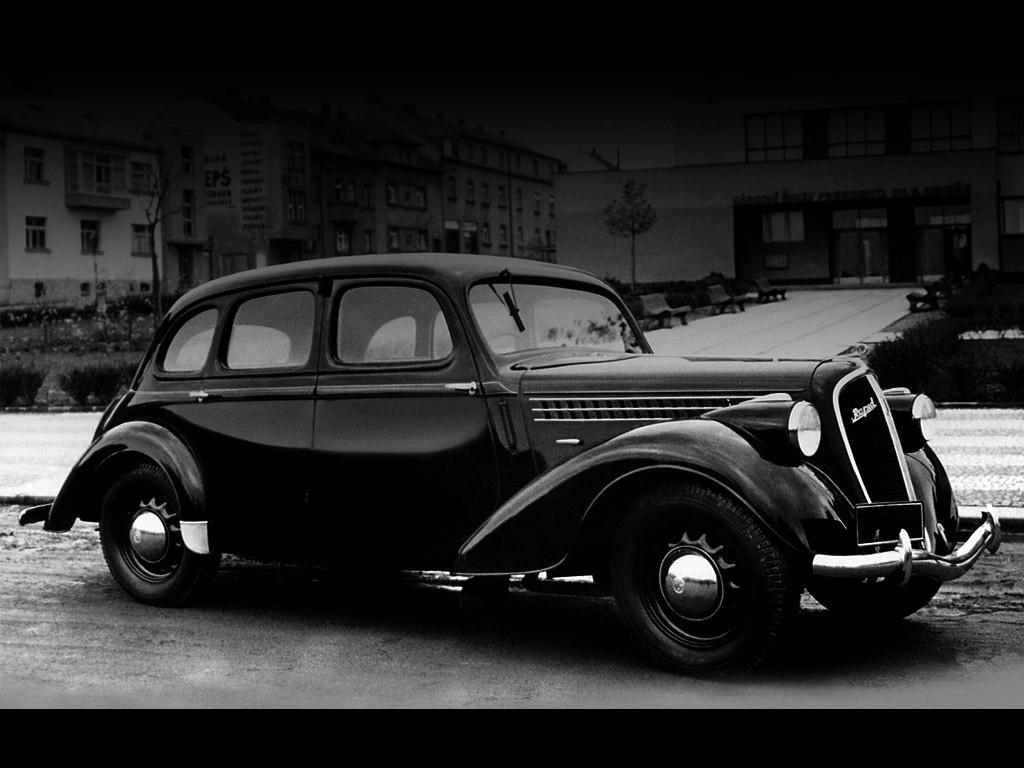 1938-47 Skoda Rapid ohv