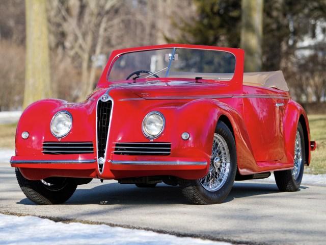 1942 Alfa-Romeo 6c 2500 Sport Cabriolet