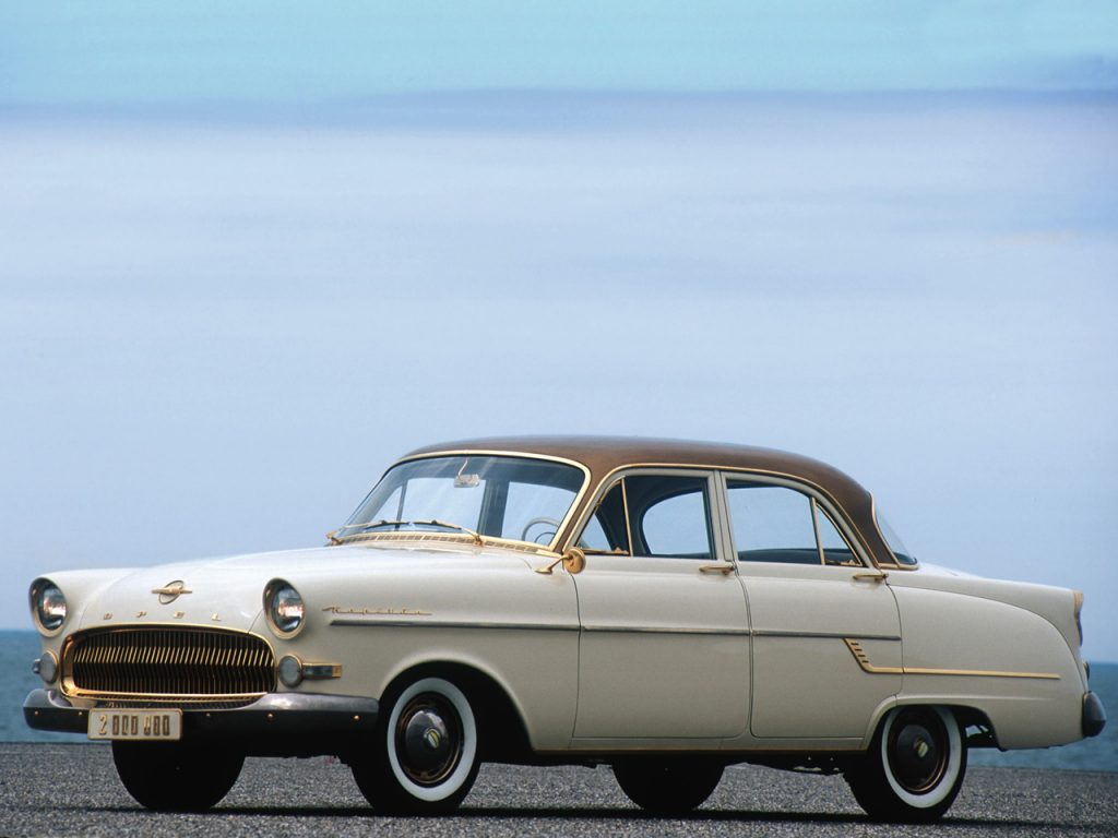 1956 a 58 Opel Kapitan
