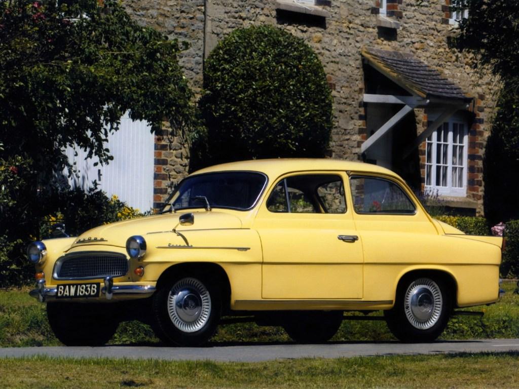 1959 Skoda Octavia Type 985