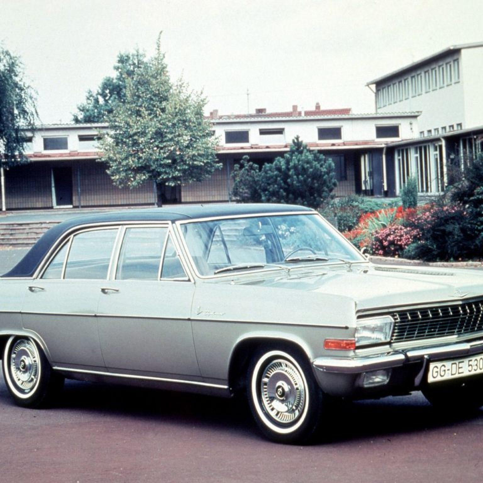 1964 a 68 Opel Diplomat A