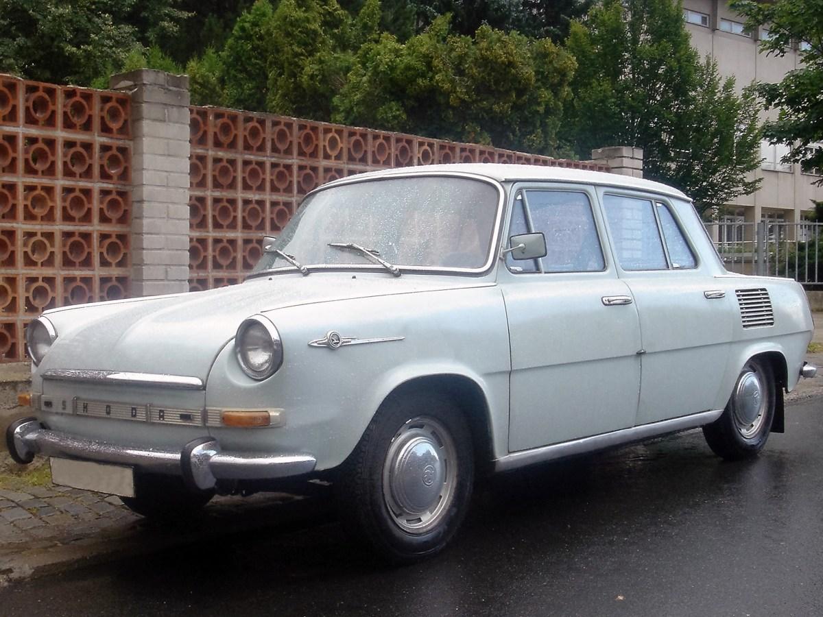 1966 Skoda 1000 MB 710