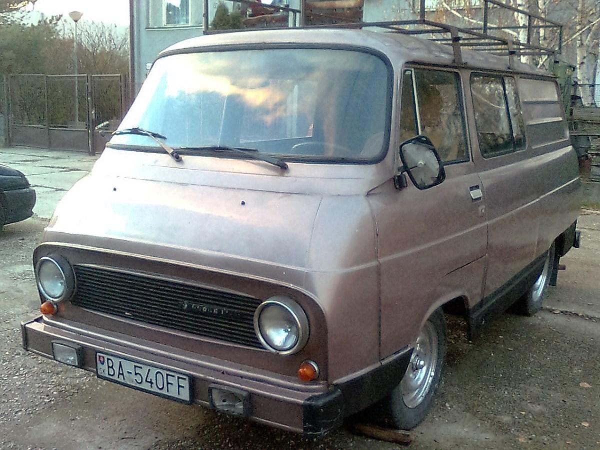 1968 Skoda 1203 TAZ