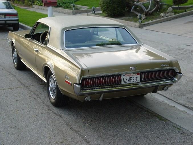 1968 Lincoln Mercury Cougar XT-7