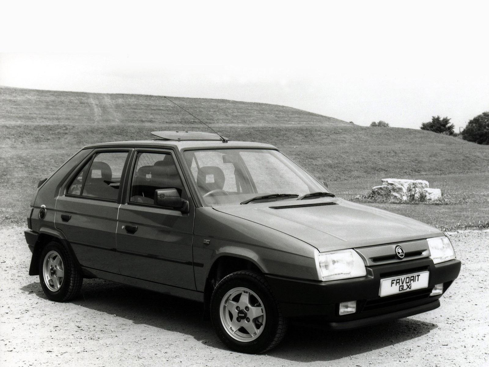 1989 Skoda Favorit UK Type 781