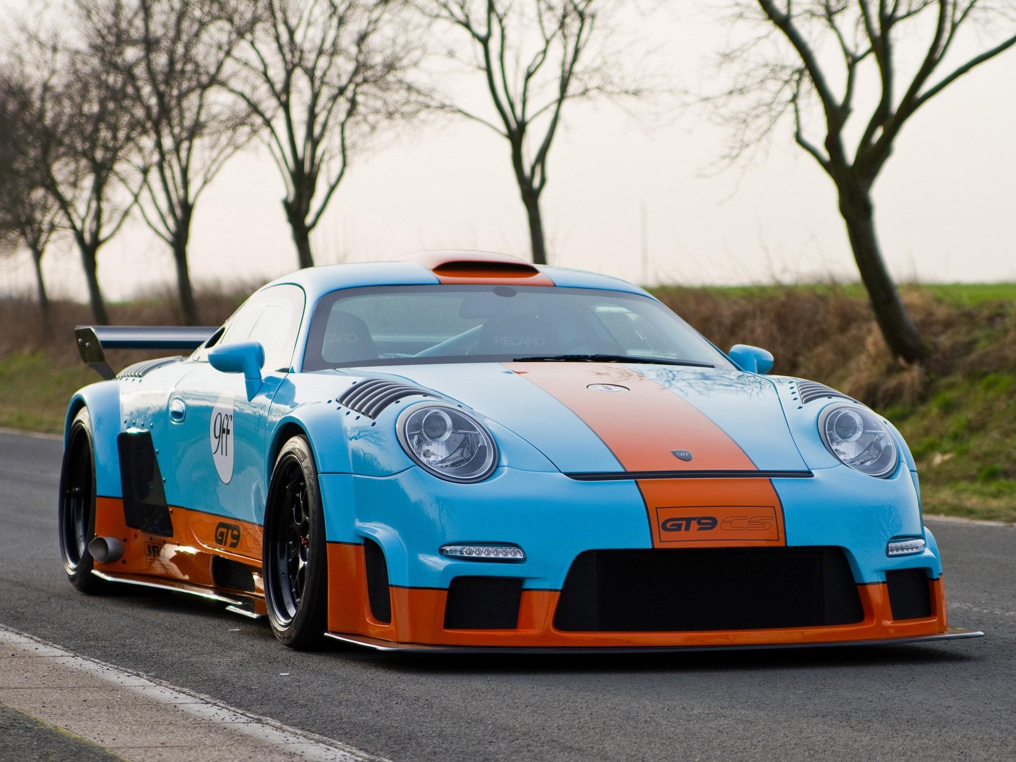 2011 9ff Porsche GT9 CS
