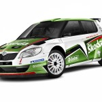 2011 Skoda Fabia Super World Rally Car