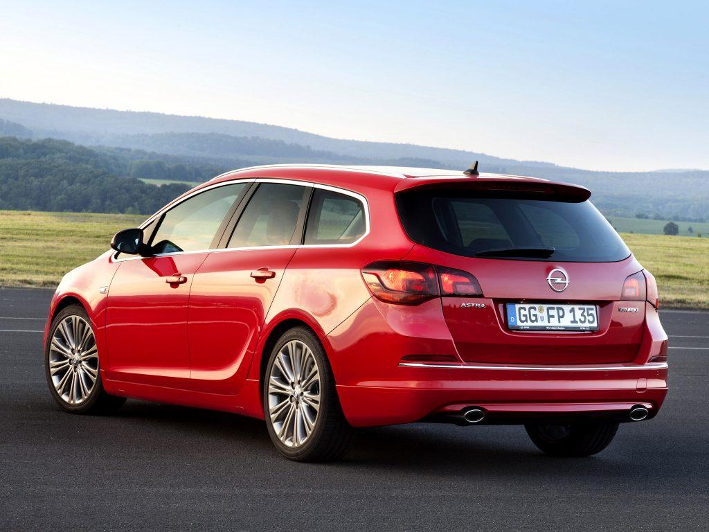 2012 Opel Astra Biturbo Sports Tourer