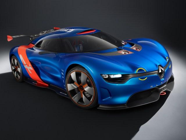 2012 Alpine Renault A110-50 Concept