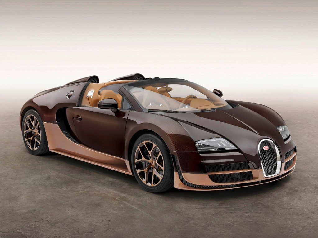 2014 Bugatti Veyron Grand Sport Roadster Vitesse Rembrandt