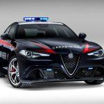 2016 Alfa Romeo Giulia Quadrifoglio Carabinieri