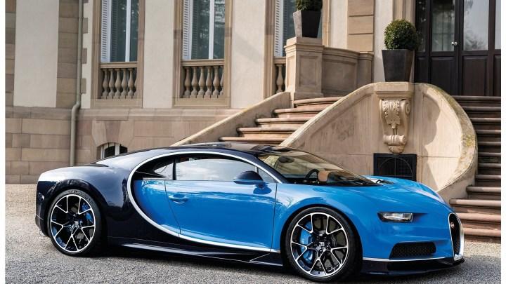 """Bugatti Chiron 2016 – Seulement """"420 km/h"""" pou la Supercar"""