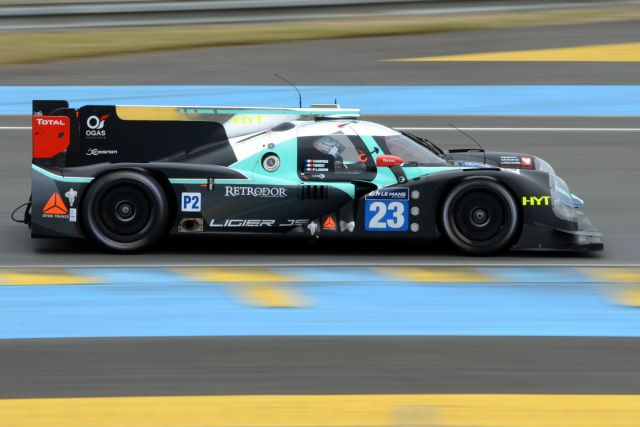 24 H du Mans 2016 - Ligier JS P2 Nissan Team Panis Barthez Competition