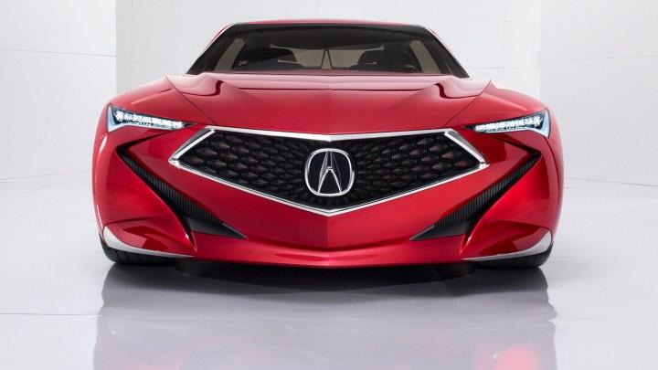 Acura Precision Concept 2016 – Prototype avec des lignes futuristes