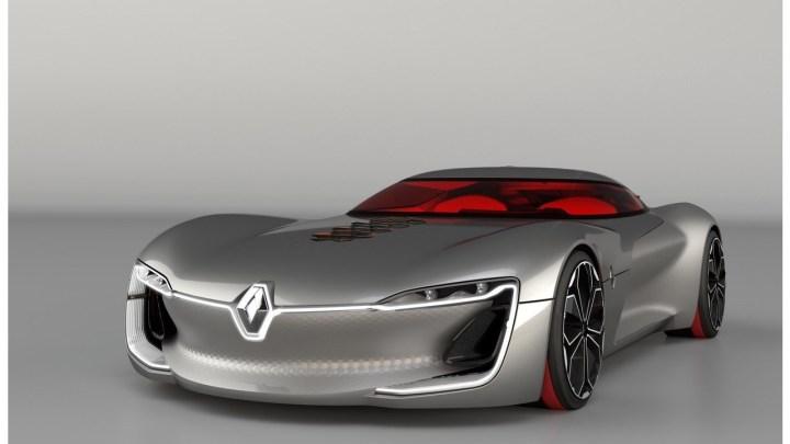 Renault Trezor Concept: Une voiture électrique sportive