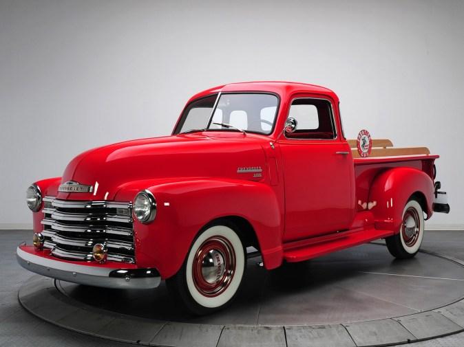 1950 Chevrolet 3100 Pickup HP 3104